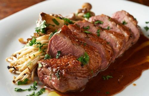 カプチーニ・肉のロースト